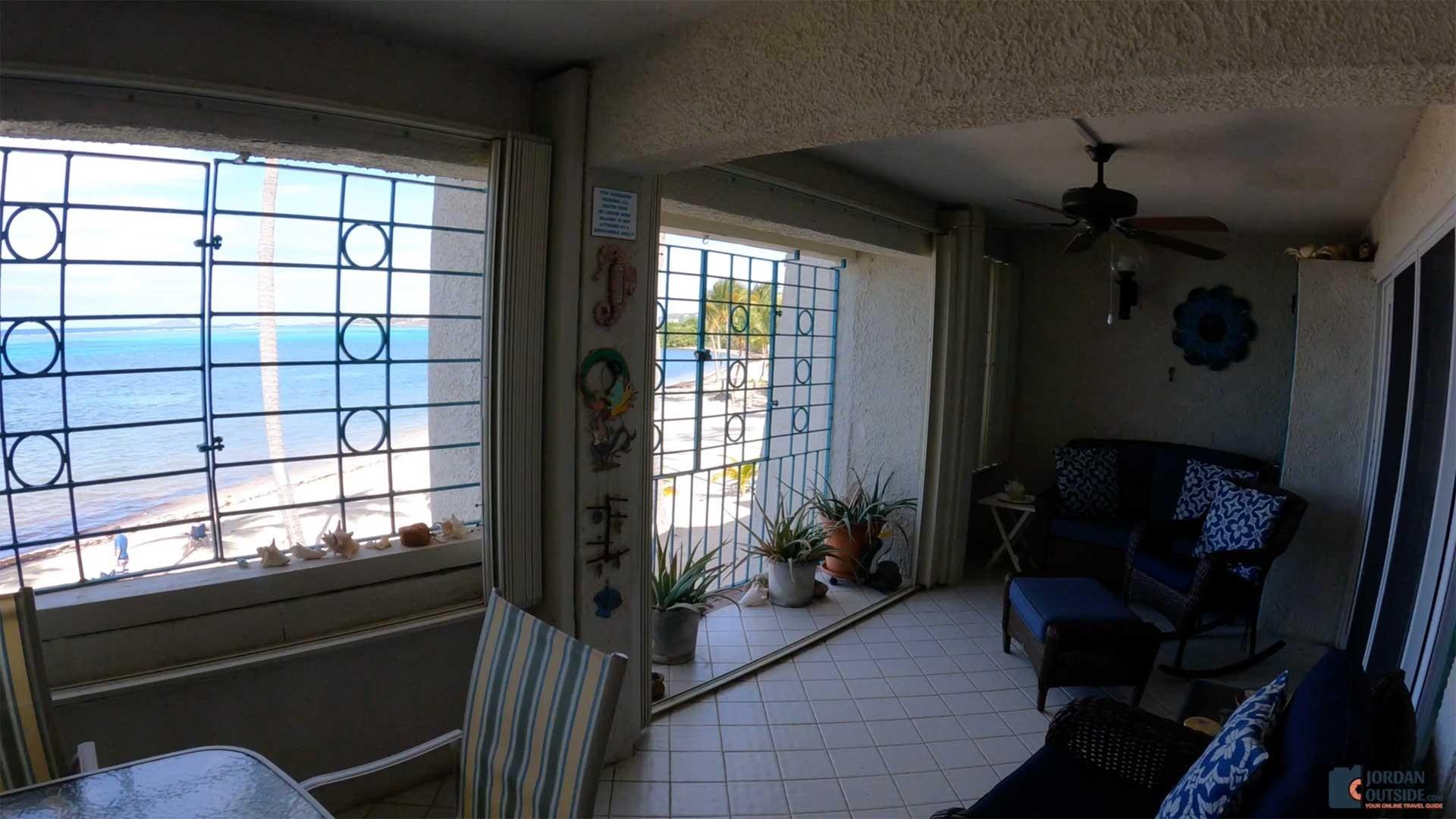 Balcony at Sugar Beach Condos Unit 207