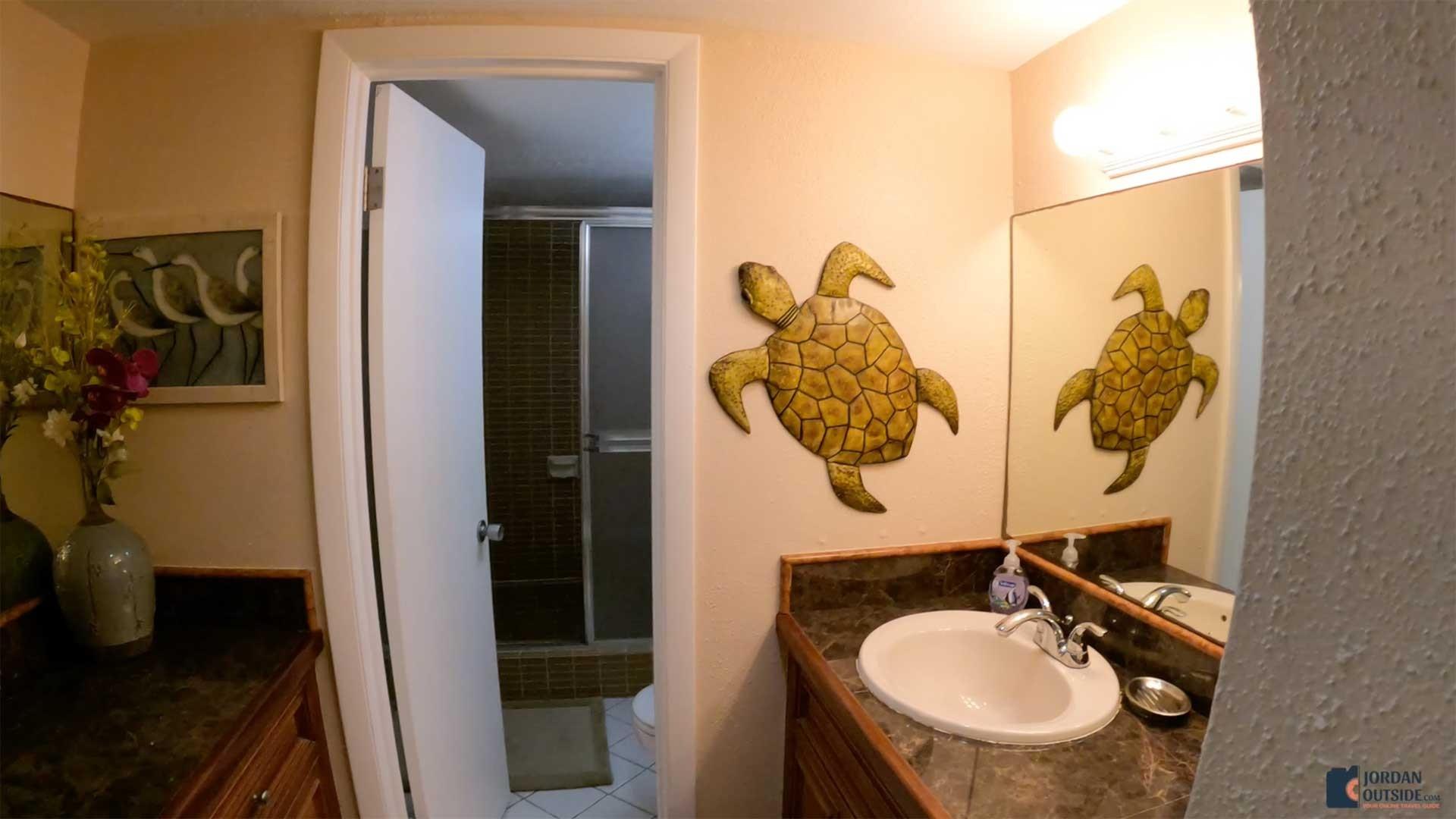 Master Bathroom at Sugar Beach Condos Unit 207