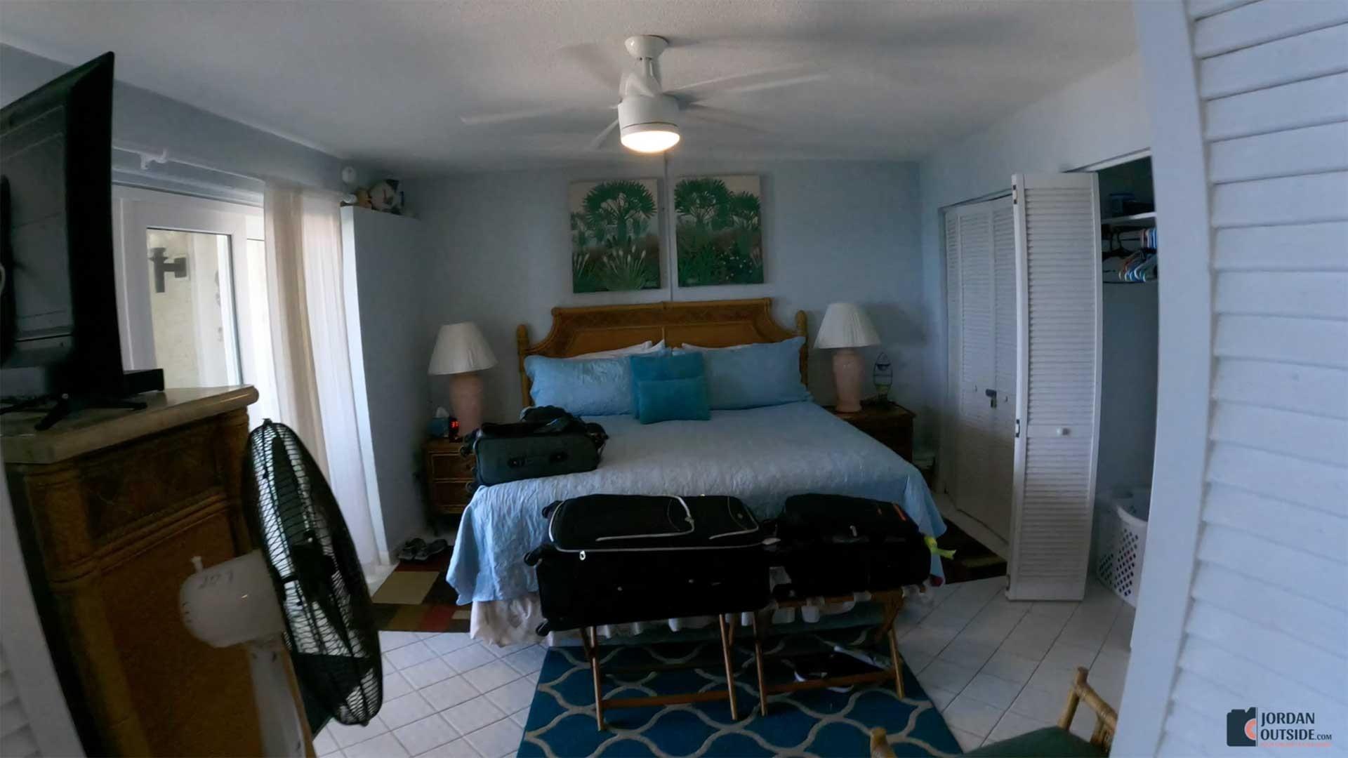 Master Bedroom at Sugar Beach Condos Unit 207