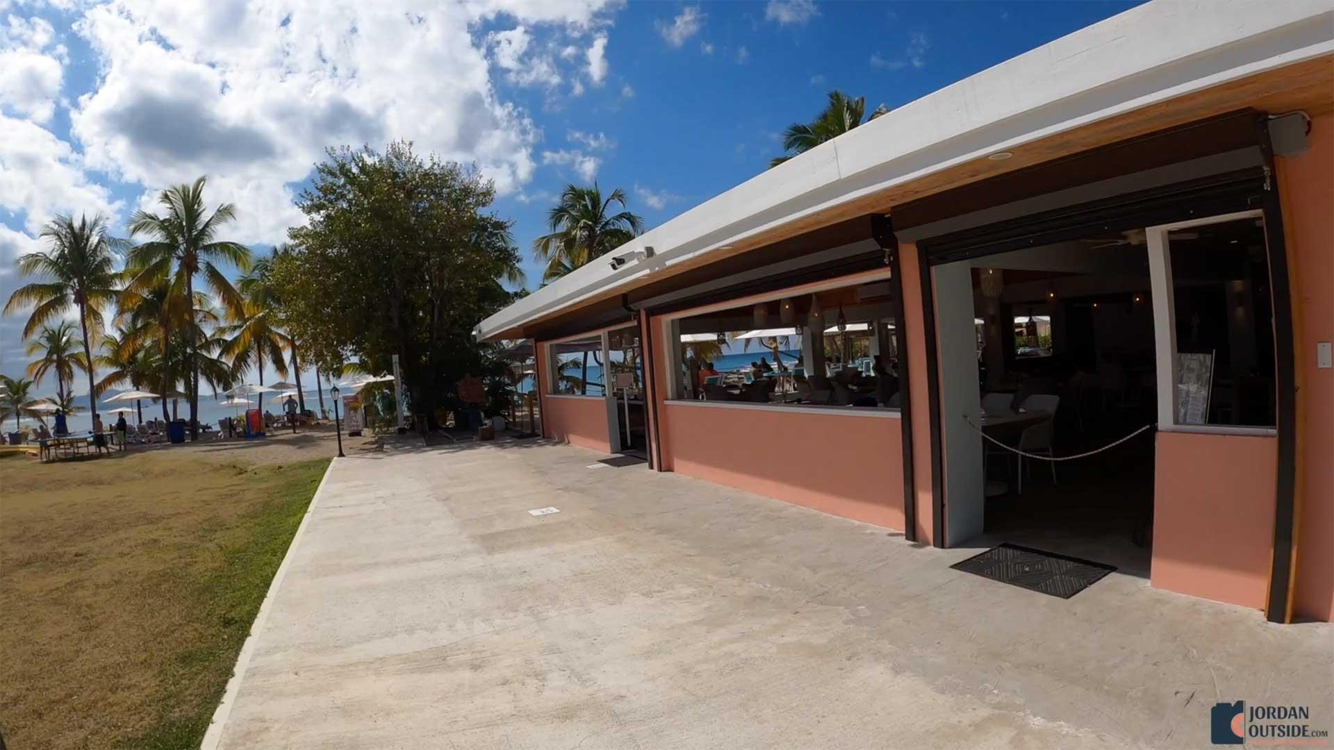 The restaurant at Mermaid Beach