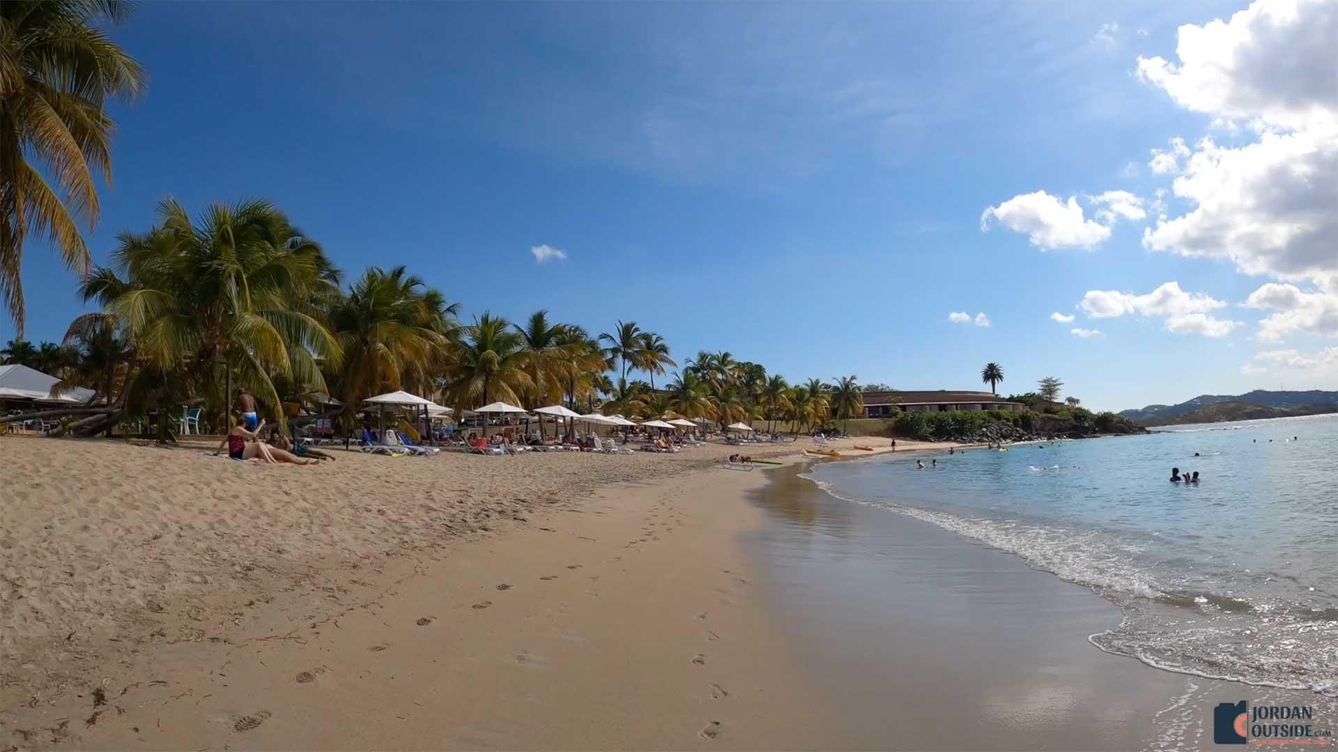 Mermaid Beach in St. Croix