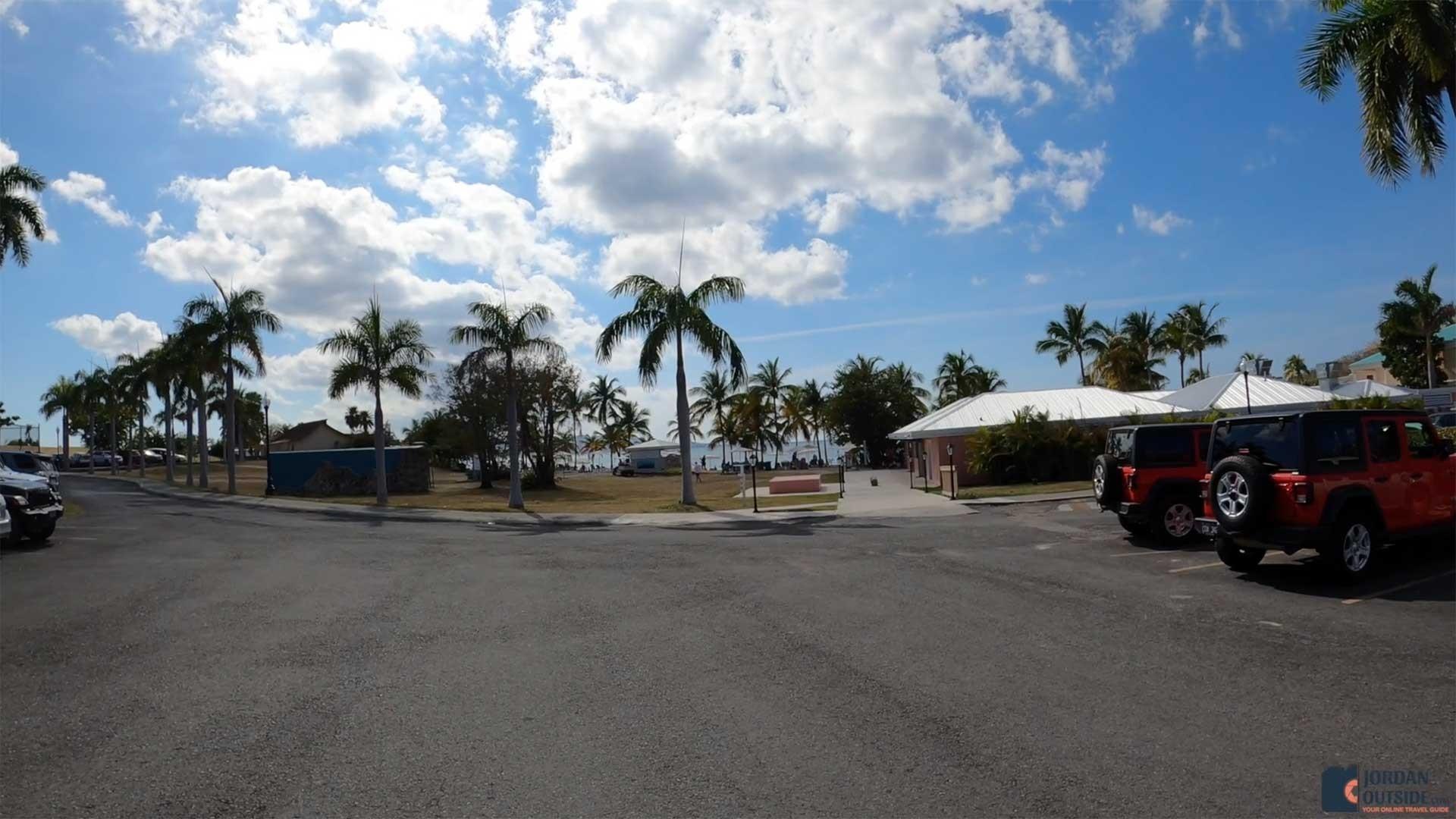 The Parking Lot at Mermaid Beach