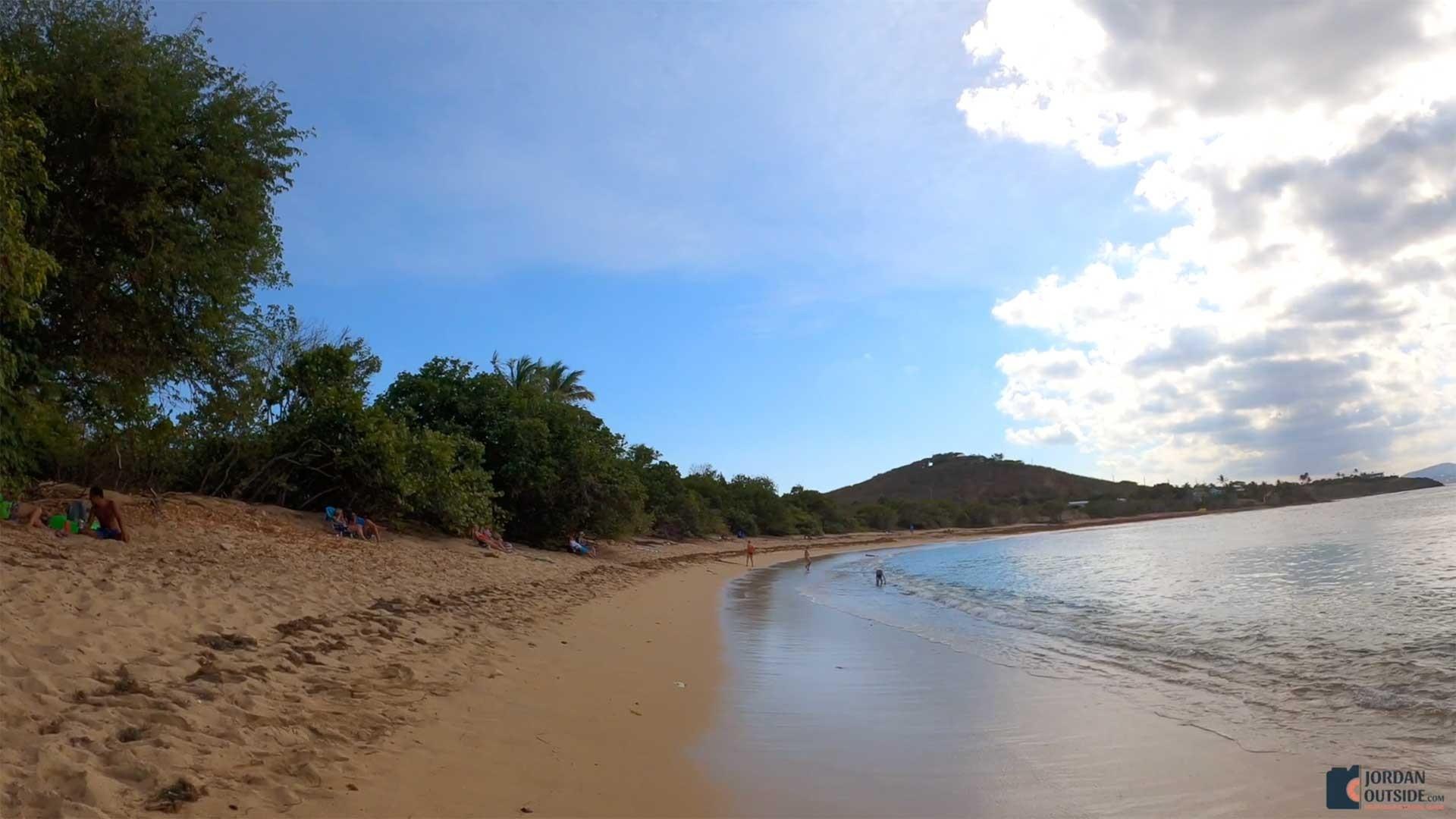 Shoys Beach soft sand, St. Croix