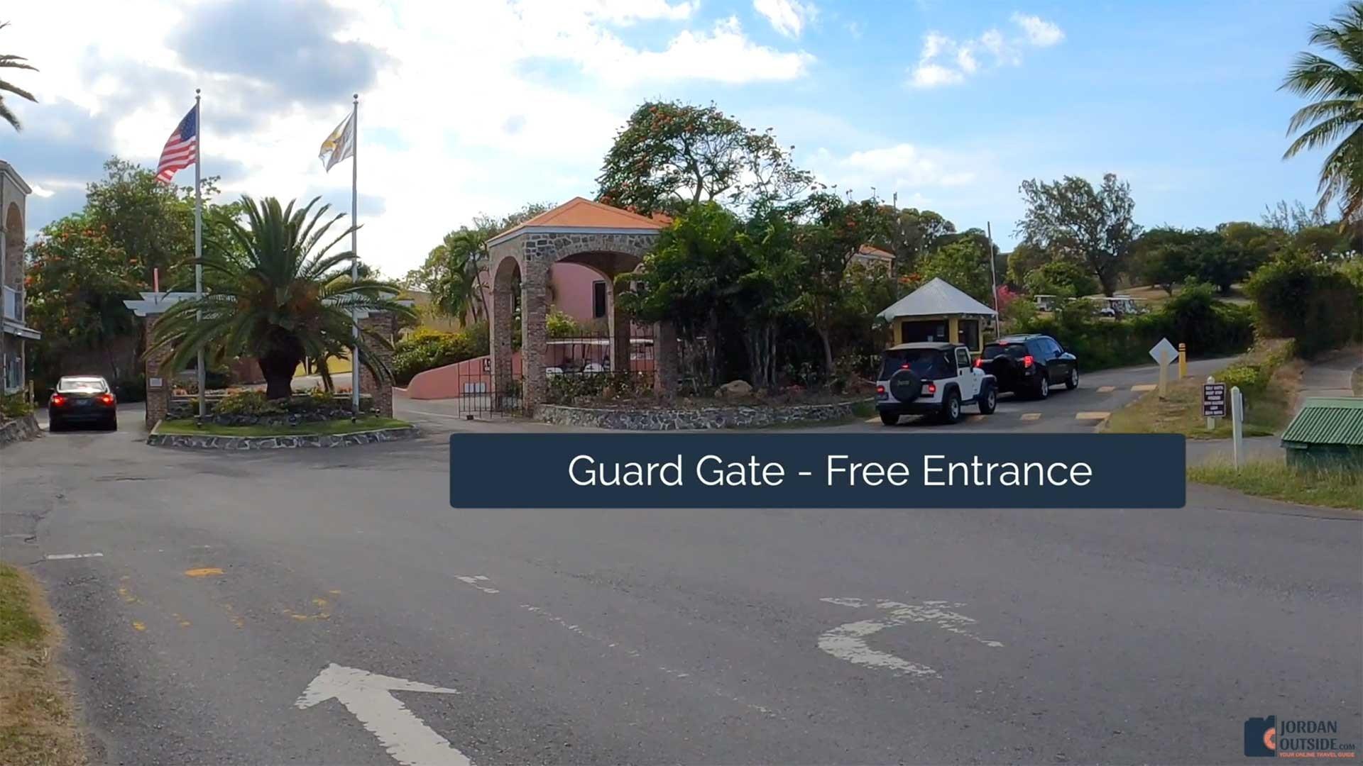 Shoys Beach Guard Gate, St. Croix