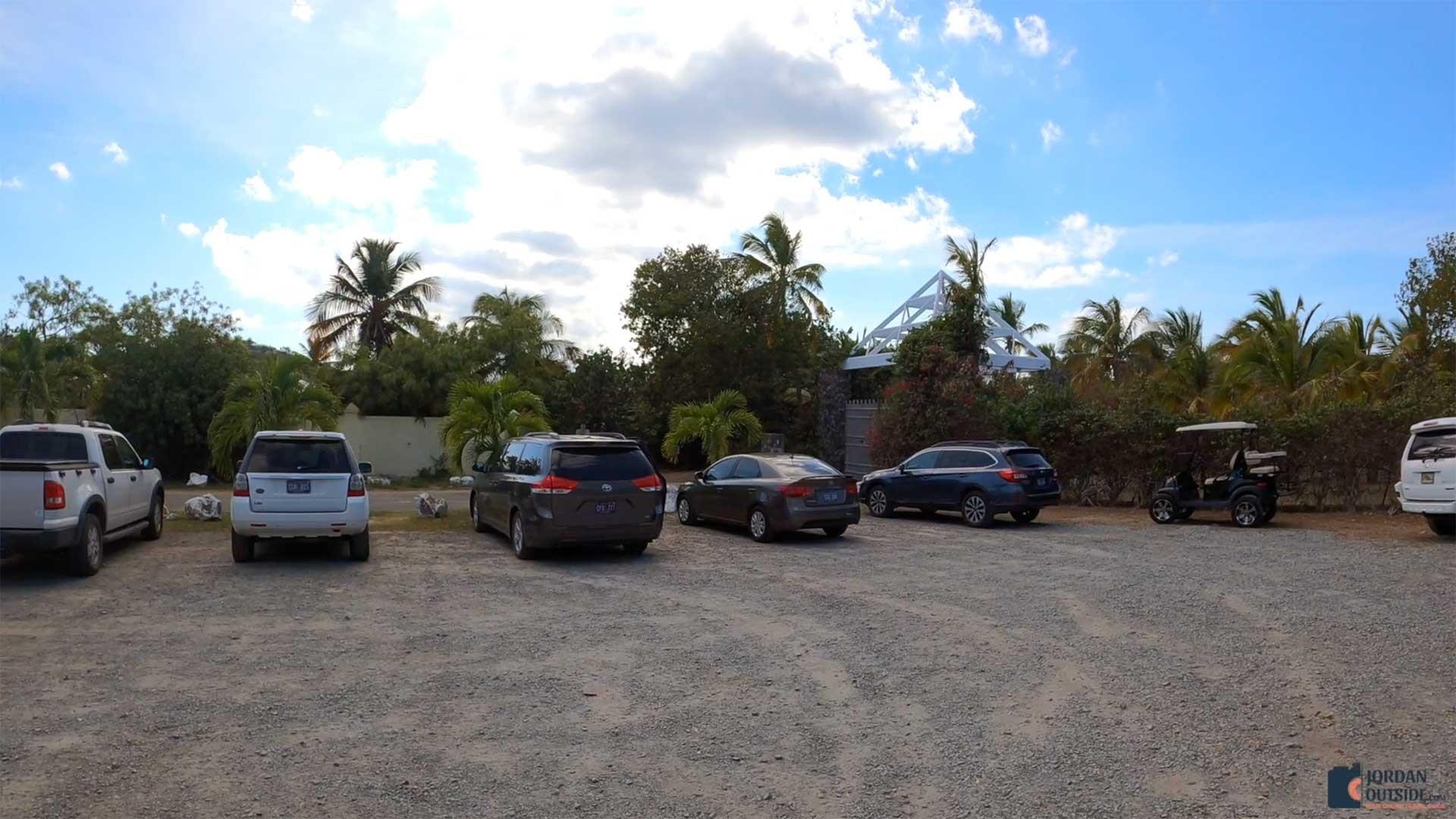Shoys Beach Parking Lot, St. Croix