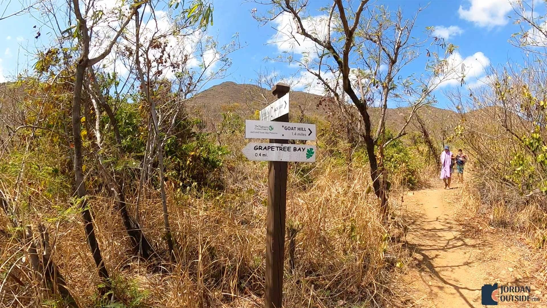 Sign to Jack's Bay Beach, St. Croix