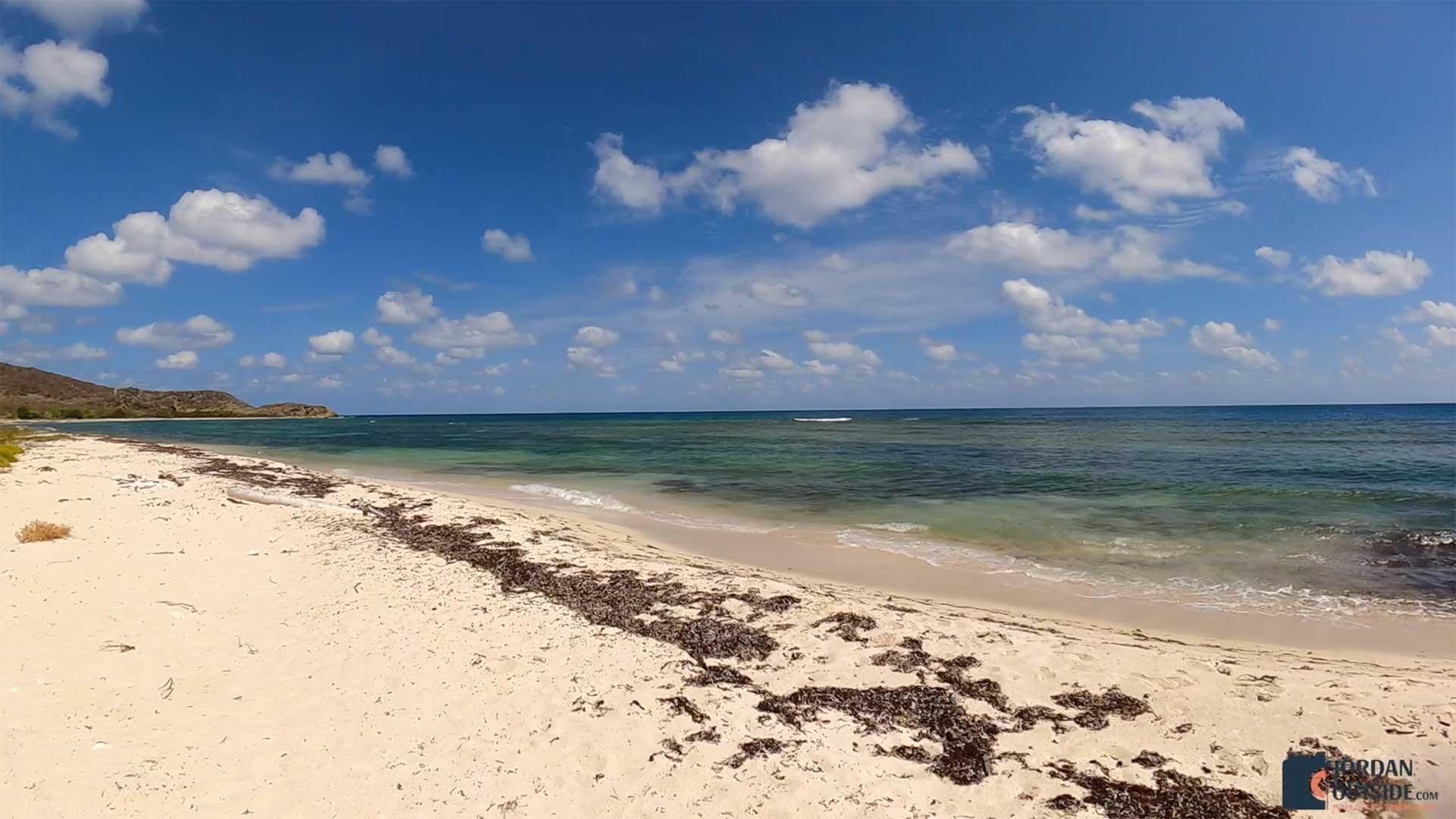 Beach view of Jack's Bay Beach, St. Croix