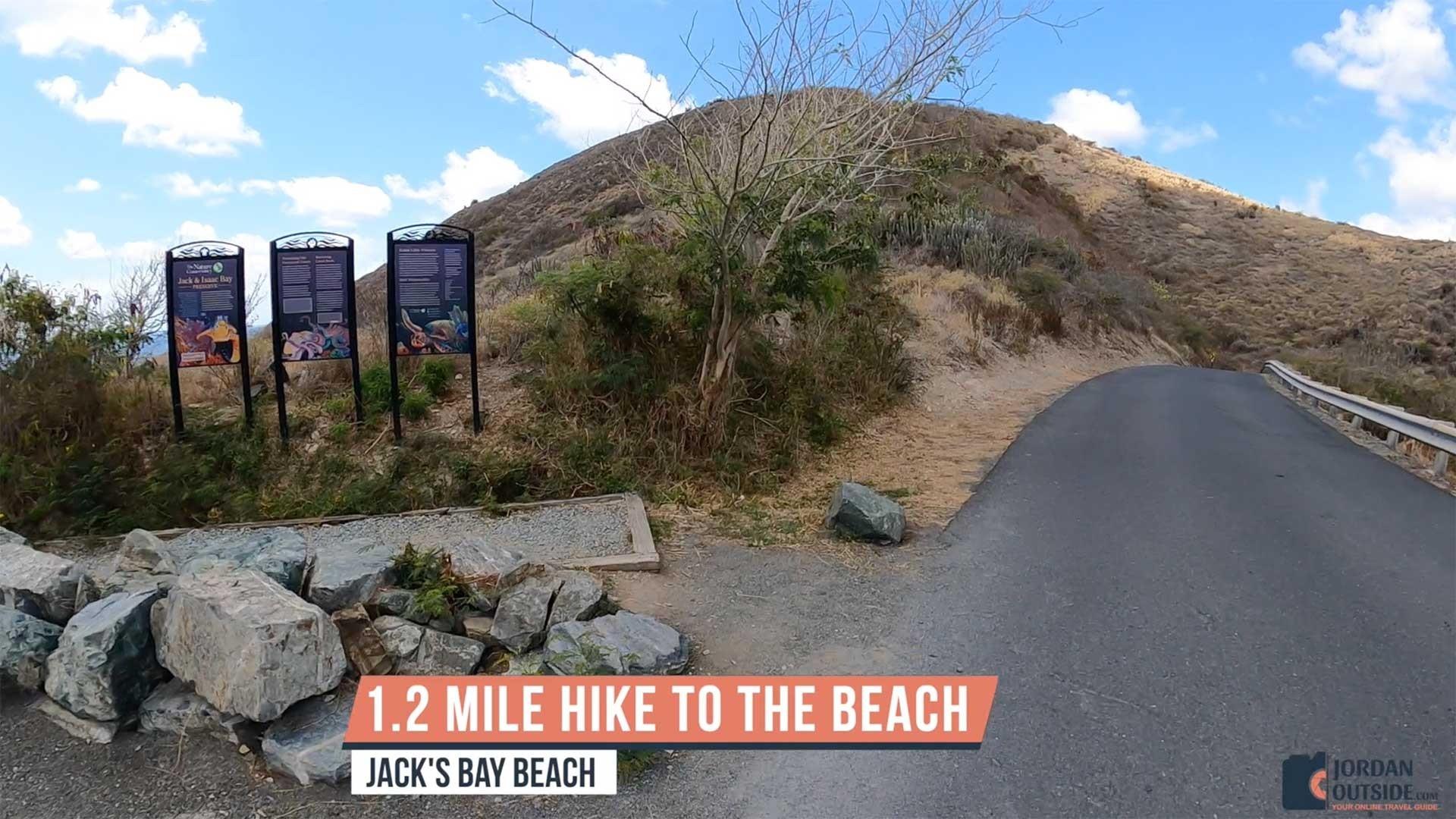 1.2 Mile Hike to Jack's Bay Beach, St. Croix