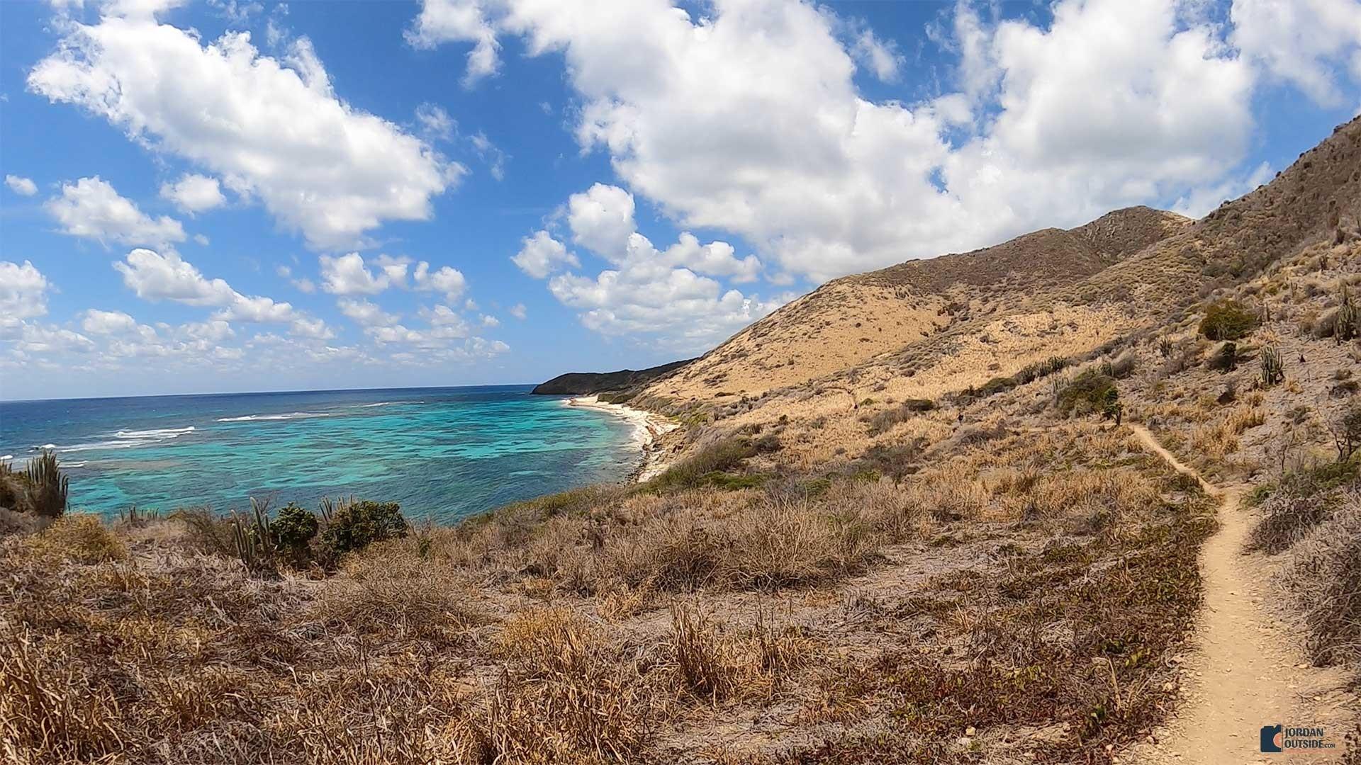 Isaac's Bay Beach Trail View, St. Croix