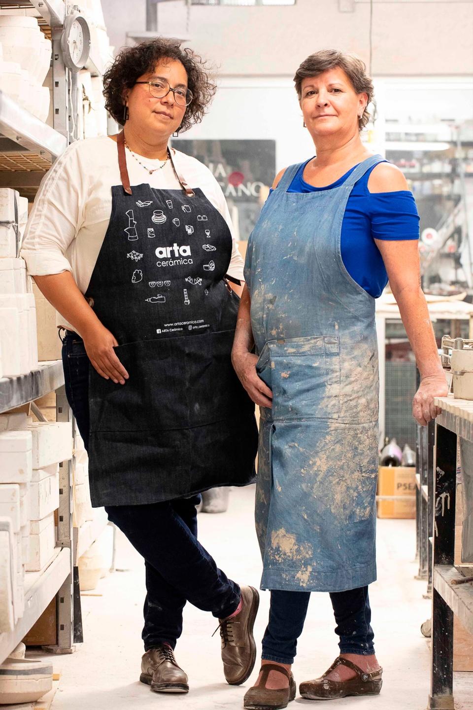 Gloria Rubio y Martha Ruiz Arta Cerámica
