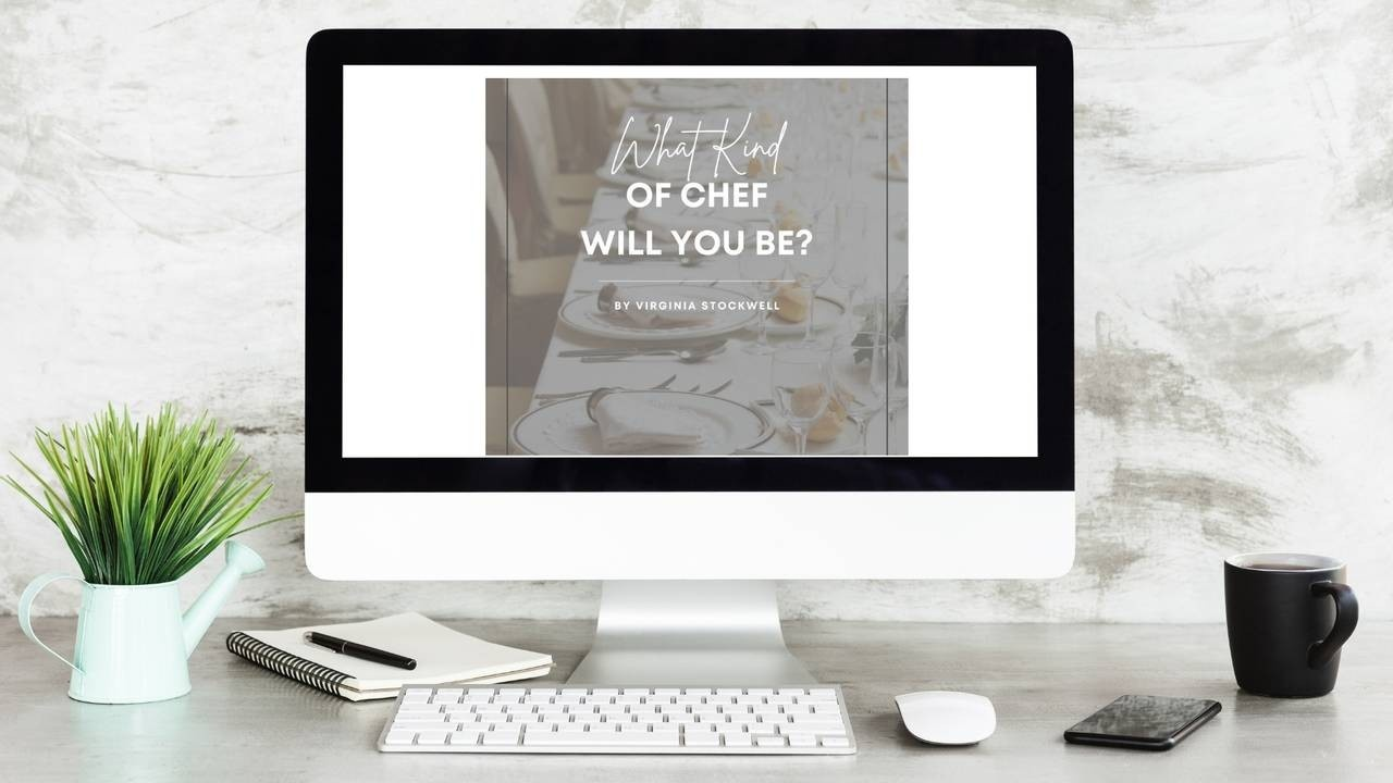 personal chef business Virginia Stockwell