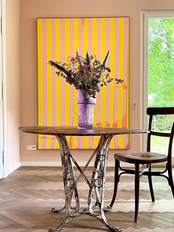 may home style interior wandbild design