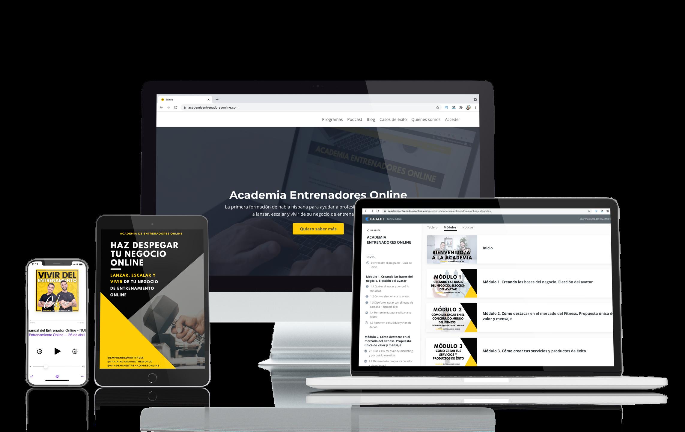 Academia Entrenadores Online