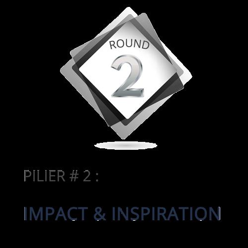PILIER NO 2 : IMPACT & INSPIRATION