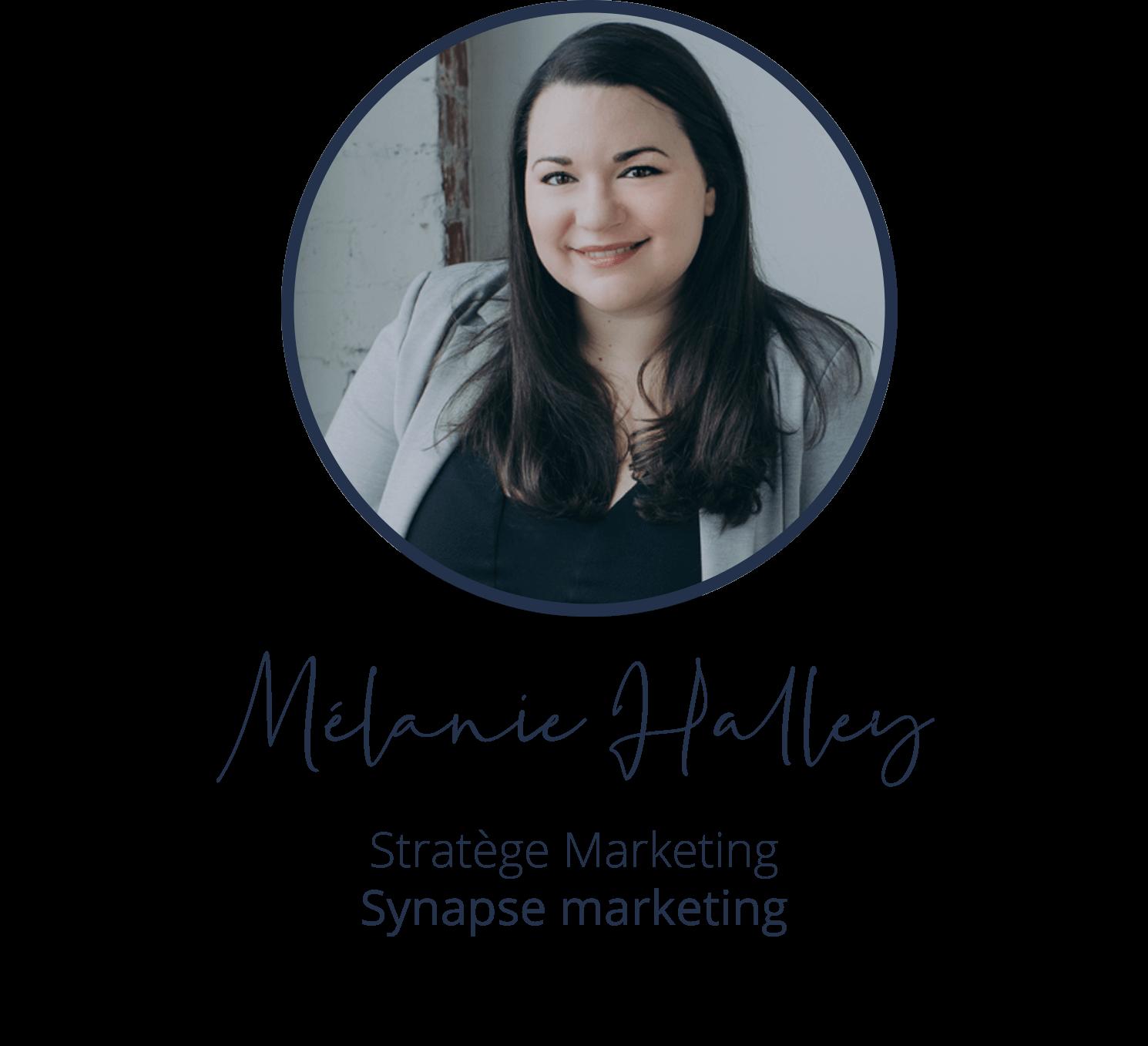 Mélanie Halley, Stratège Marketing, Synapse marketing