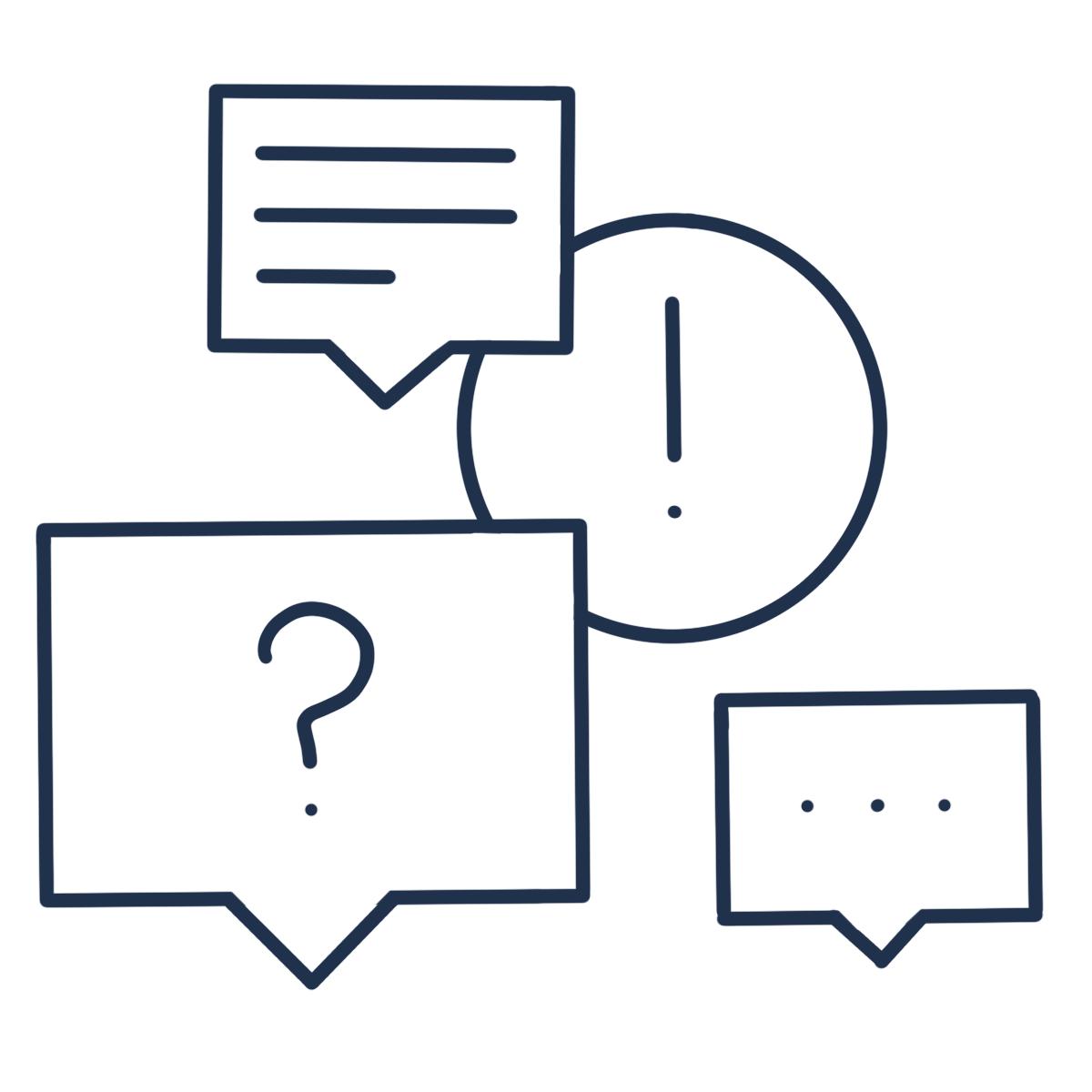Des séances de questions-réponses pour répondre à tes interrogations et besoins du moment