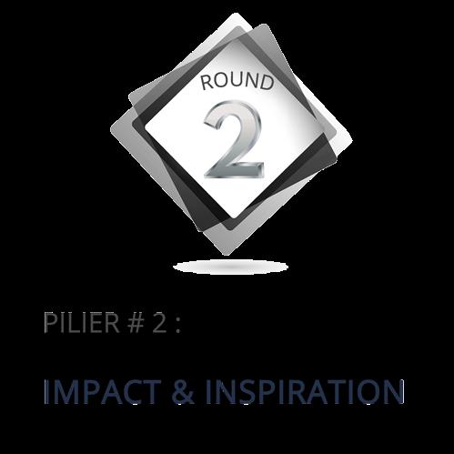 Pilier 2 : Impact et inspiration