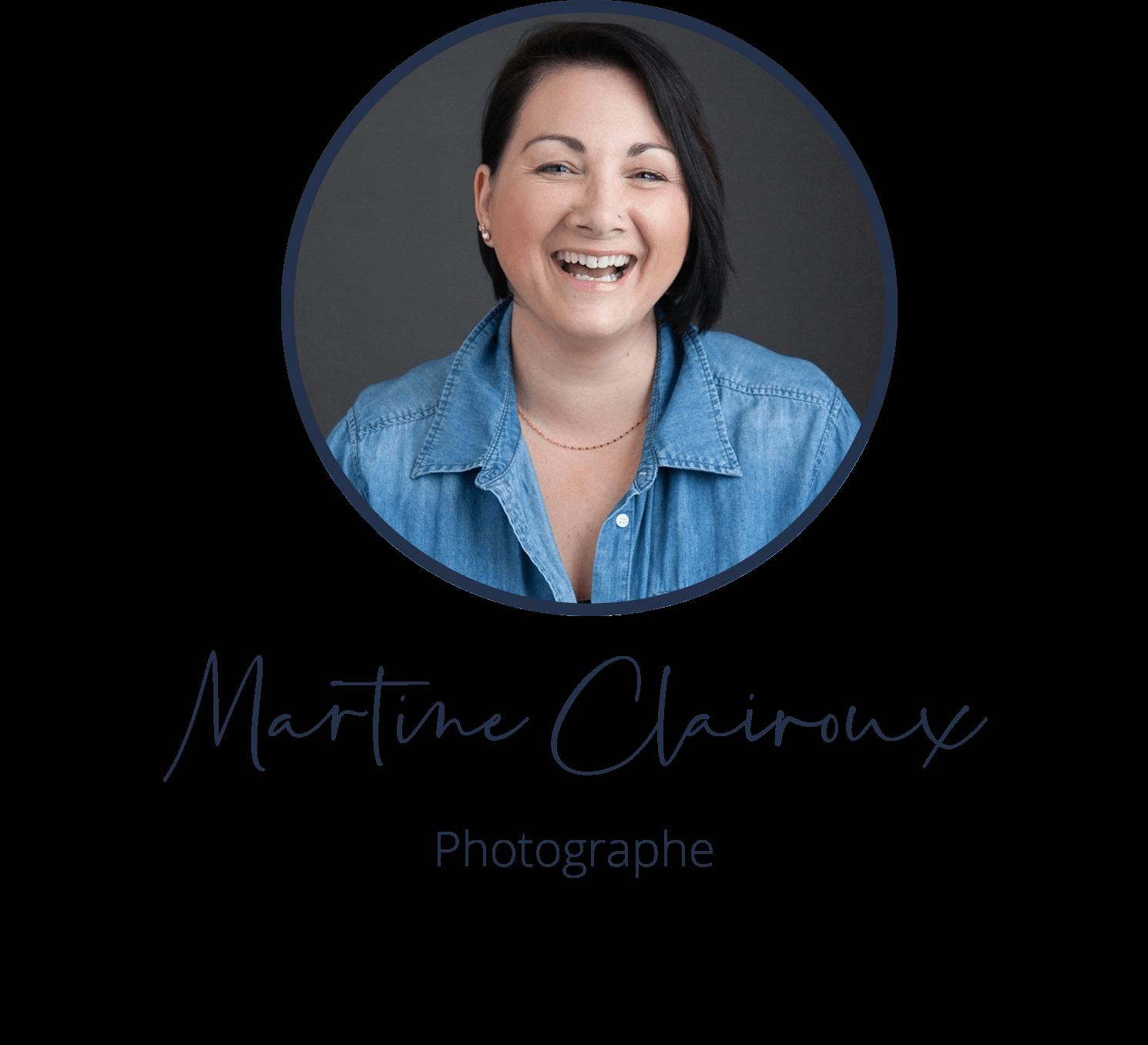Martine Clairoux, Photographe