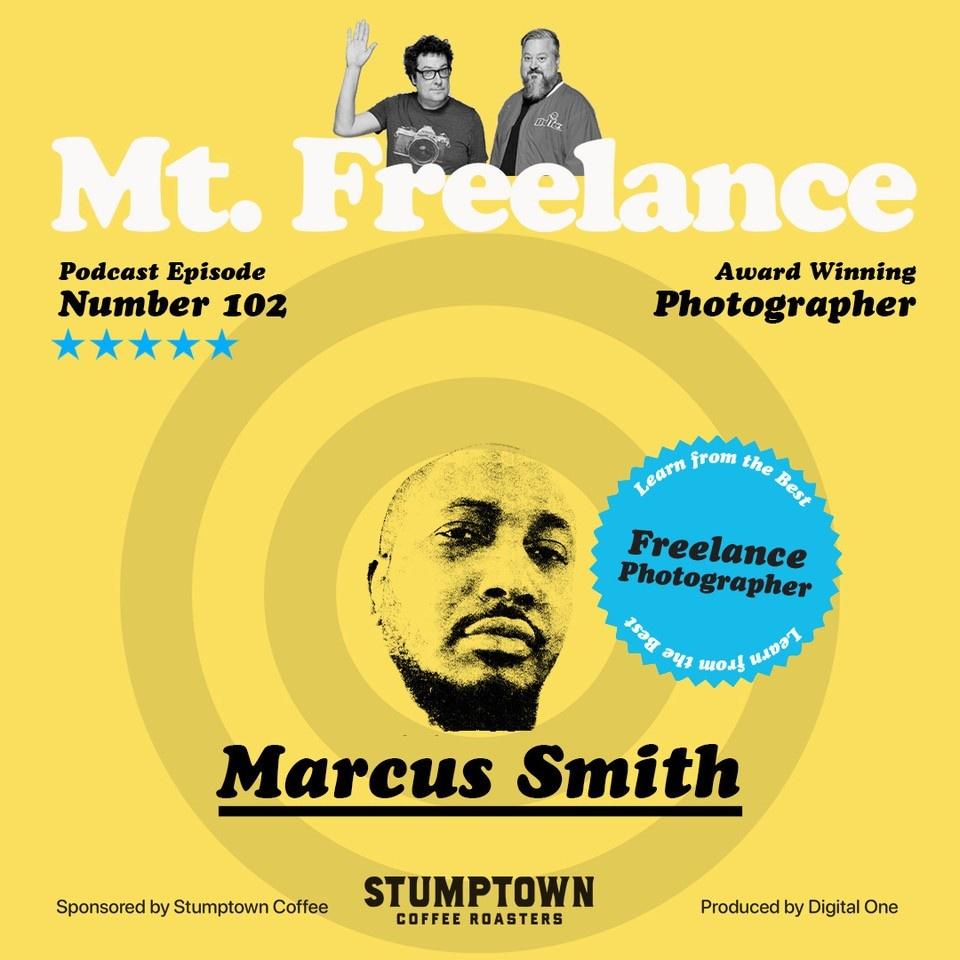 Episode 102 Marcus Smith Mt. Freelance Podcast Cover Art