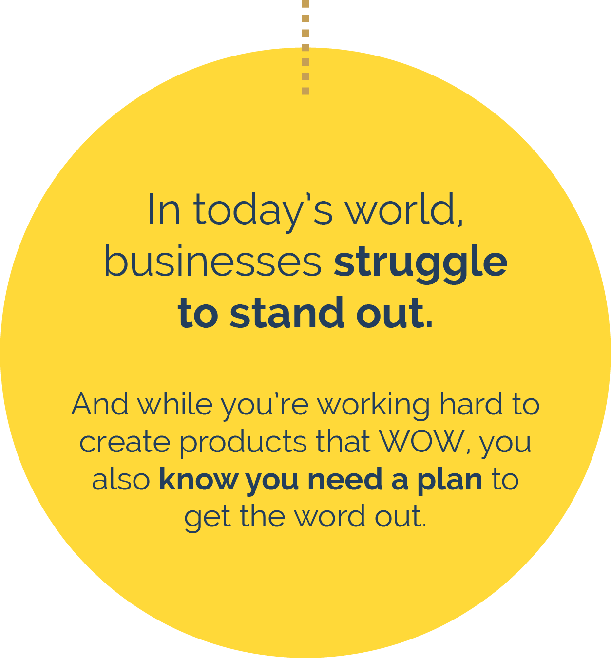 In today's world, businesses struggle to stand out. And while you're working hard to create products that WOW, you also know you need a plan to get the word out.