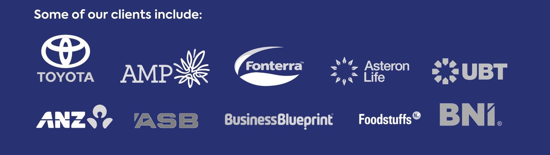 Sales Mastery Company clients
