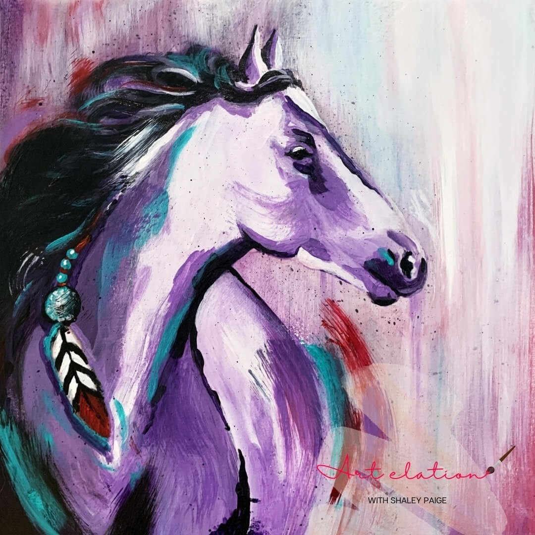 Wild Horse by Shaley Paige at Art Elation