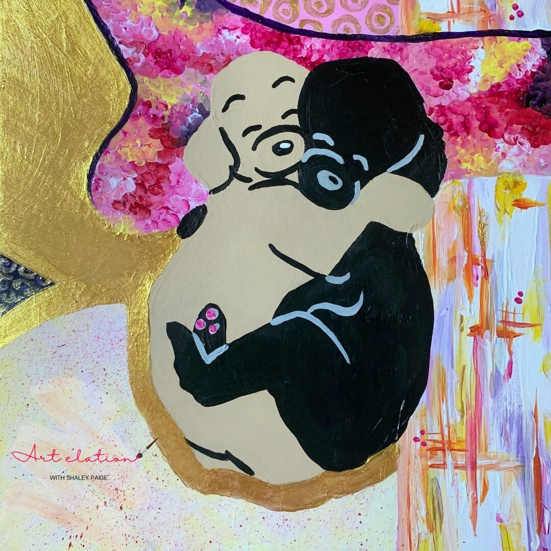 Puppy Love by Shaley Paige at Art Elation
