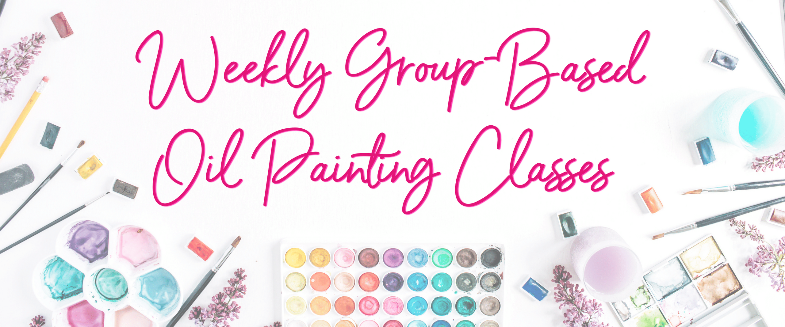 Instructor Lead Oil Painting Classes