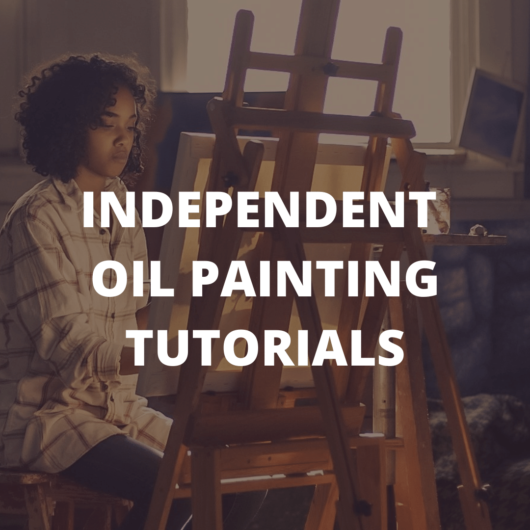 Independent oil painting tutorials