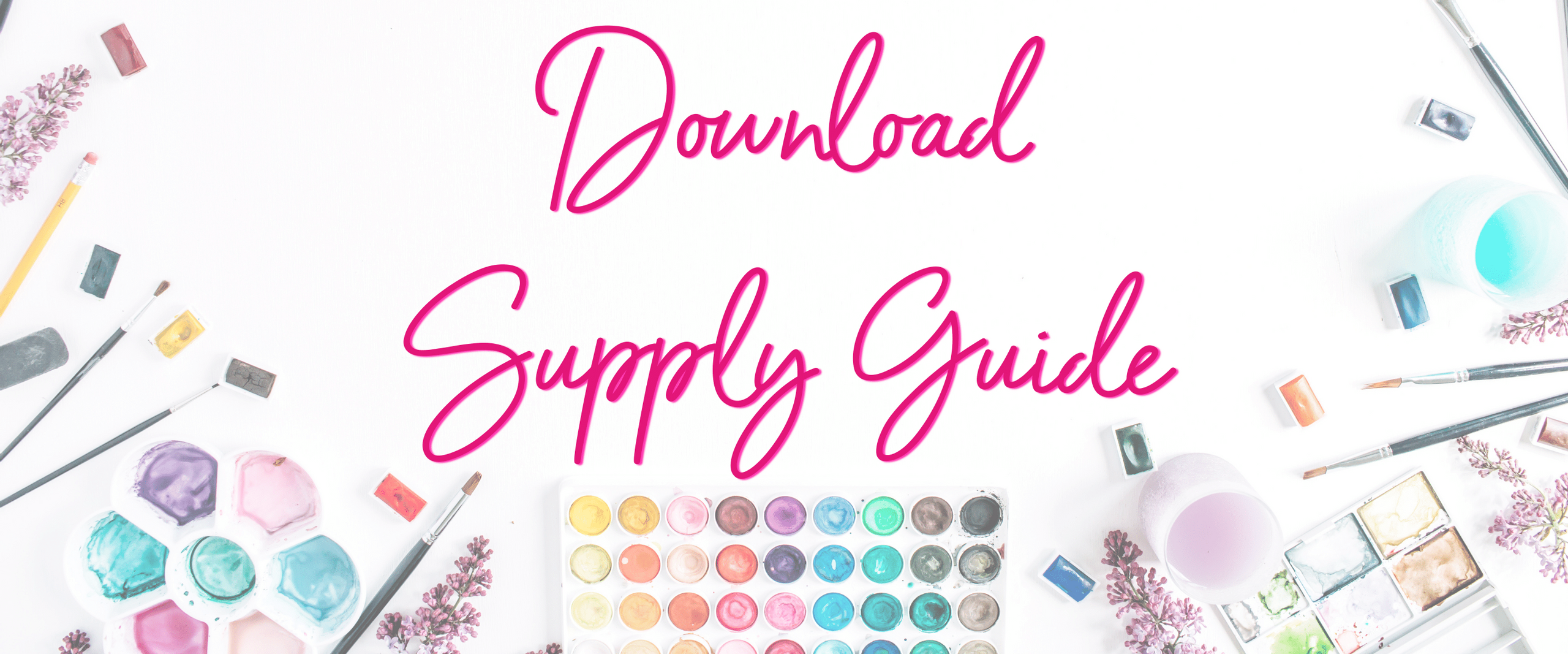 download oil painting supply guide
