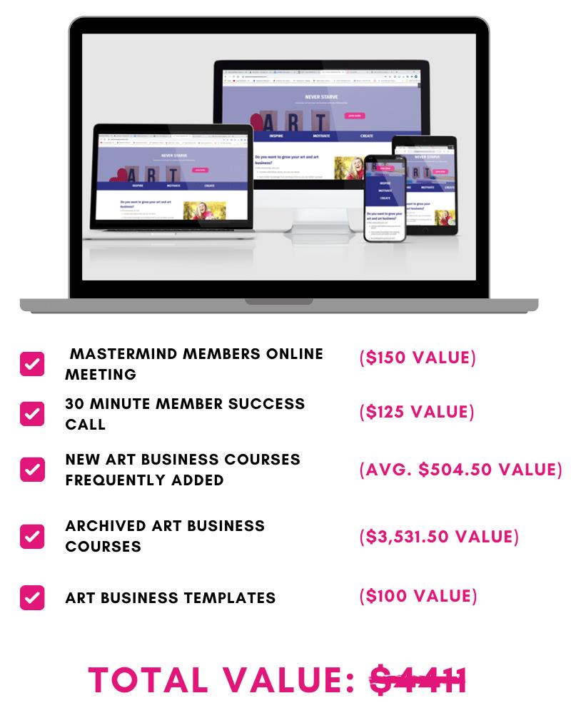 Art business membership