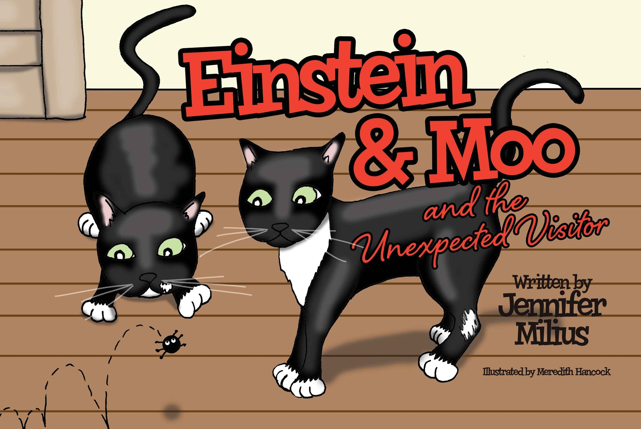 Einstein & Moo and the Unexpected Visitor by Jennifer Milius