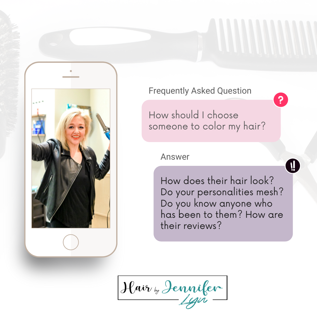 how to choose a hair stylist