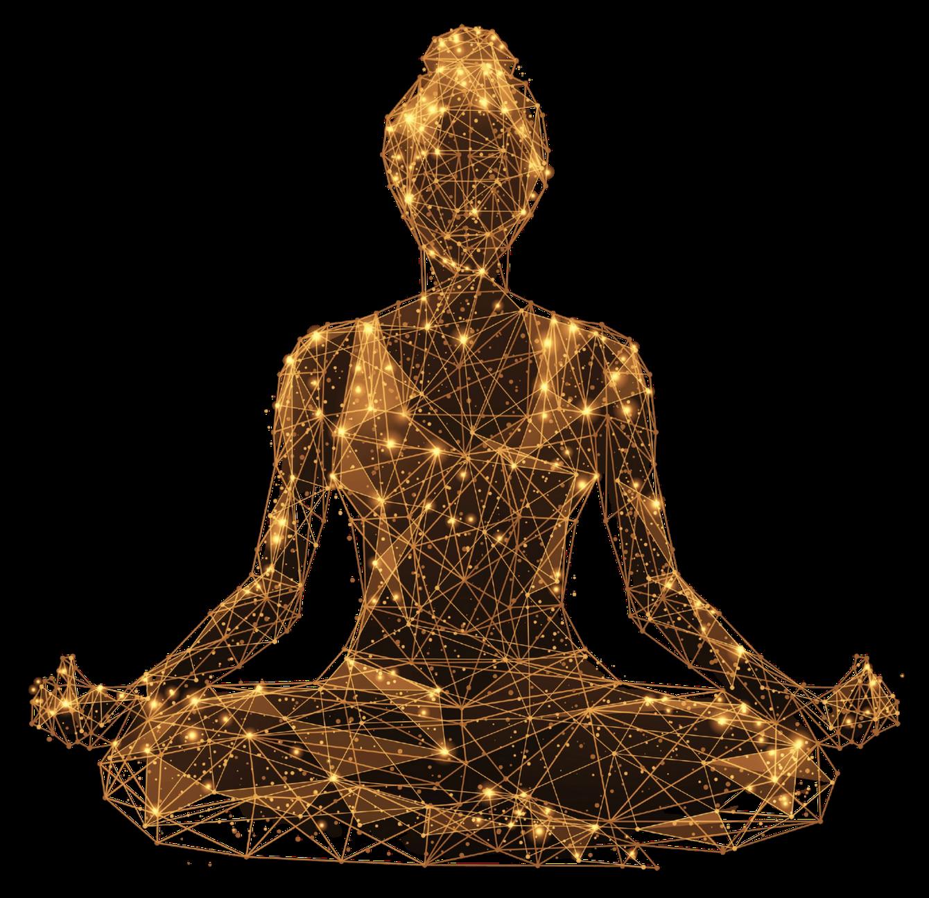 Gold Meditator