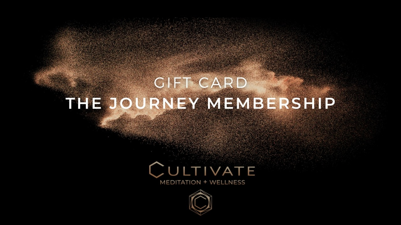Cultivate Meditation and Wellness Gift Card