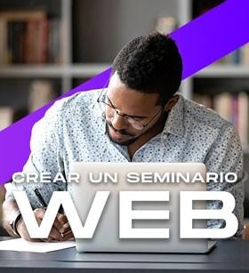 Crear un seminario web