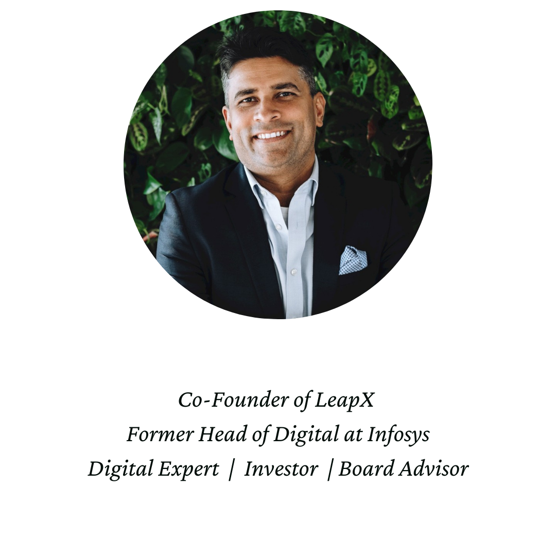 Anand Verna, Infosys, LeapX