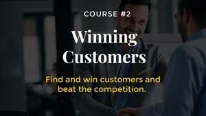 winning customers entrepreneurship course