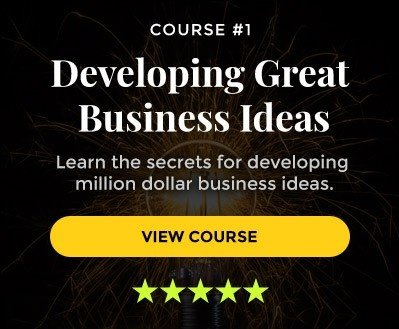 How to find good business ideas e-course
