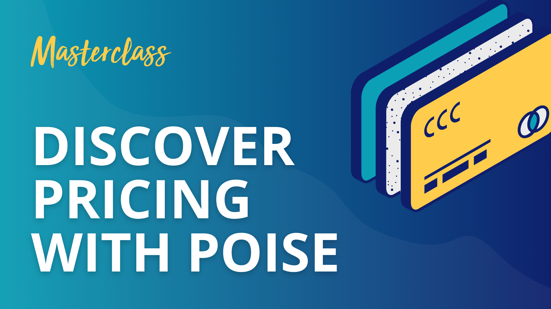 Pricing With Poise masterclass by Jessica Osborn