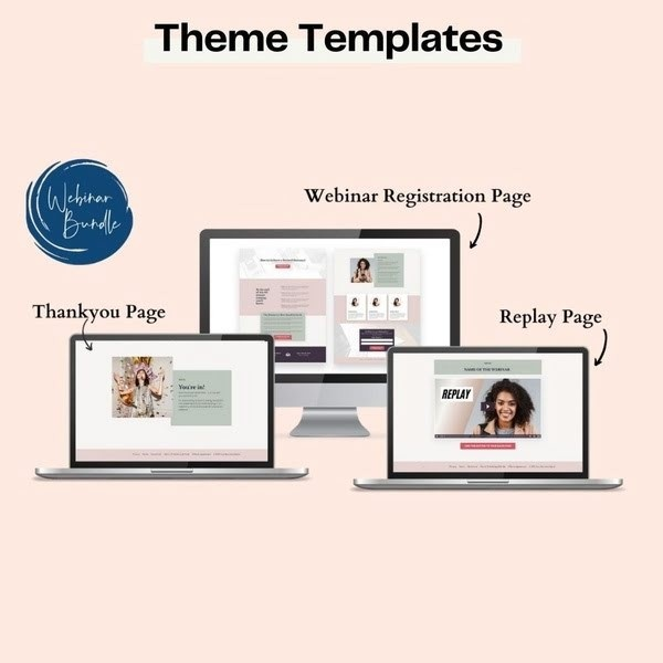 Kajabi Templates and themes Webinar