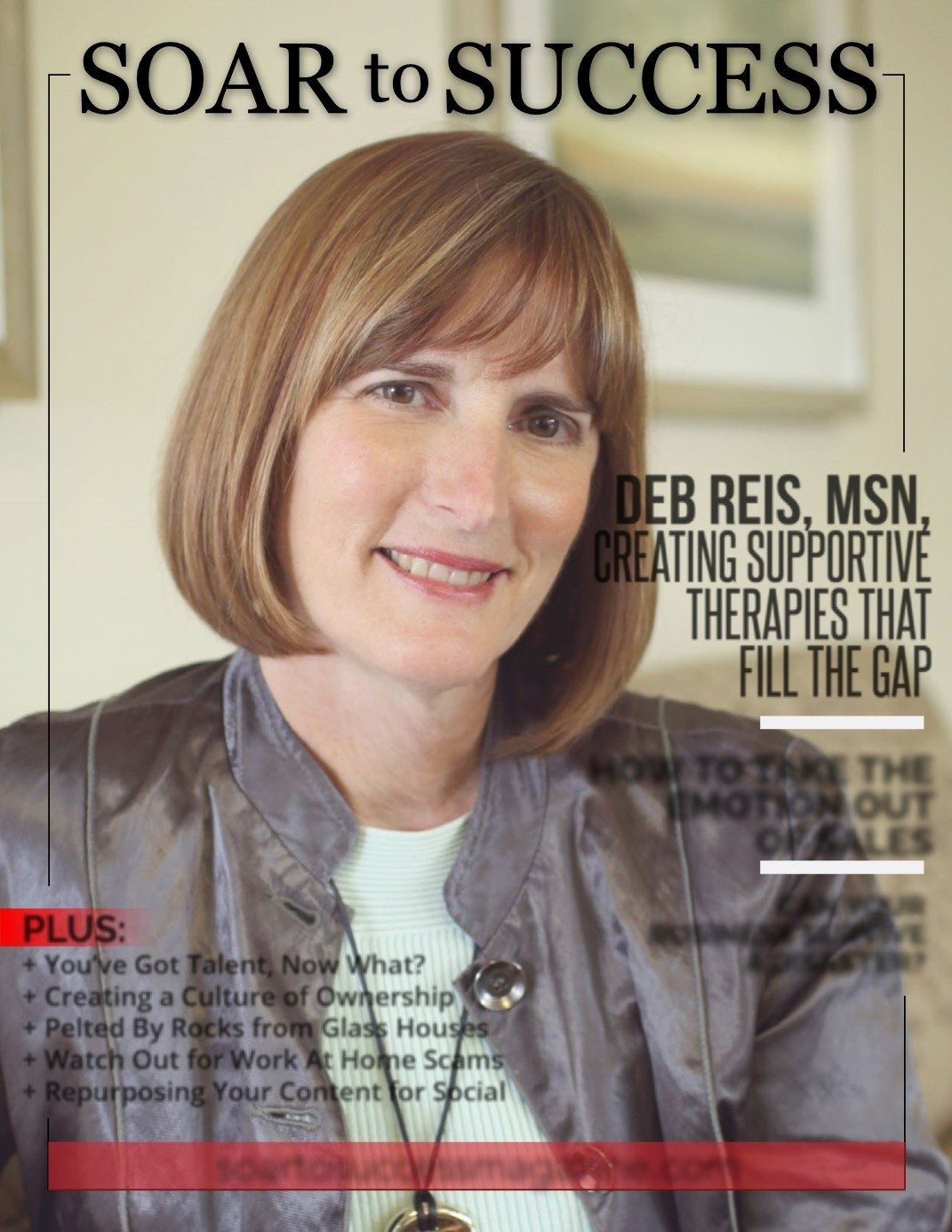 Debra Reis Soar to Success Creating Supportive Therapies that fill the gap