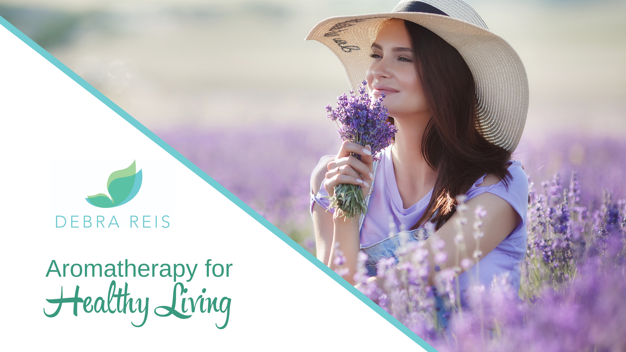 Aromatherapy for Healthy Living by Debra Reis, Certified Clinical Aromatherapist