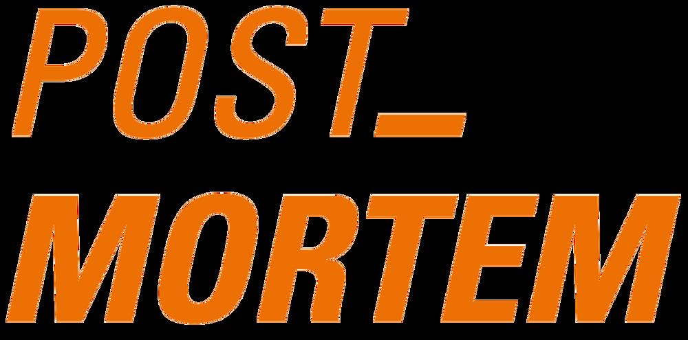 Post mortem logo