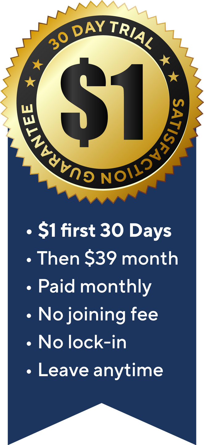 Join The Disruptors Club for only $1