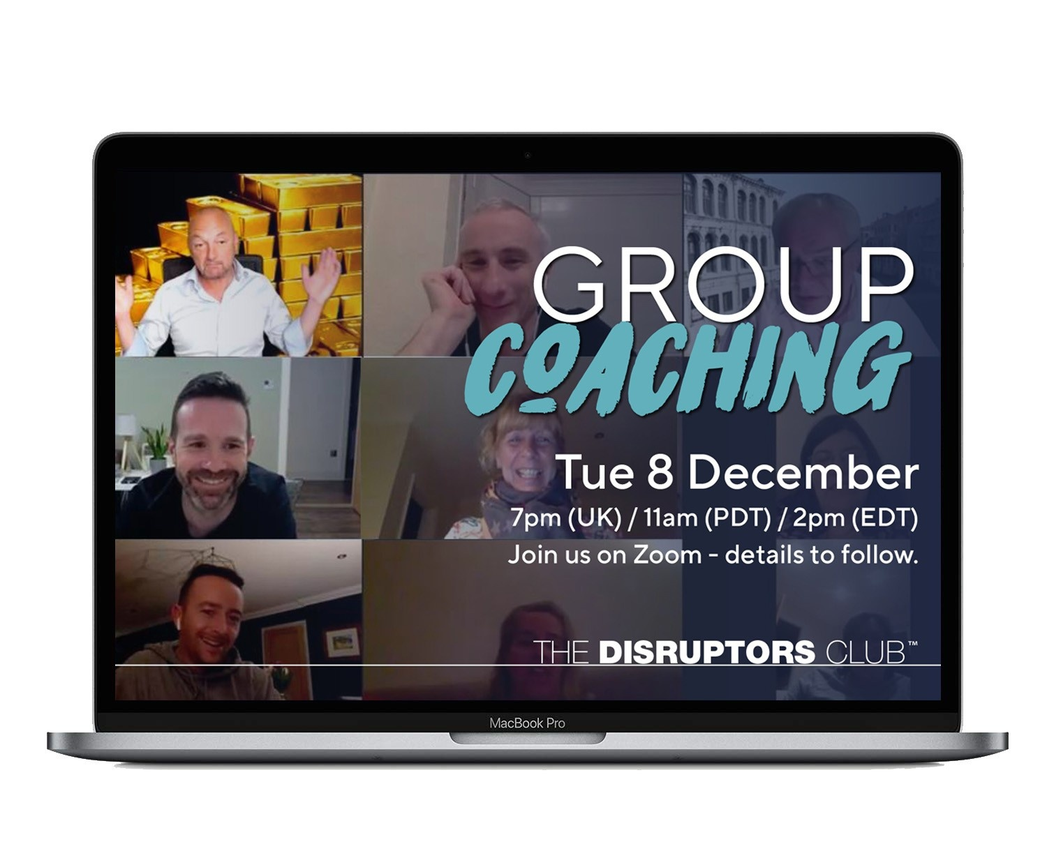 The Disruptors Club Online Business Group Coaching