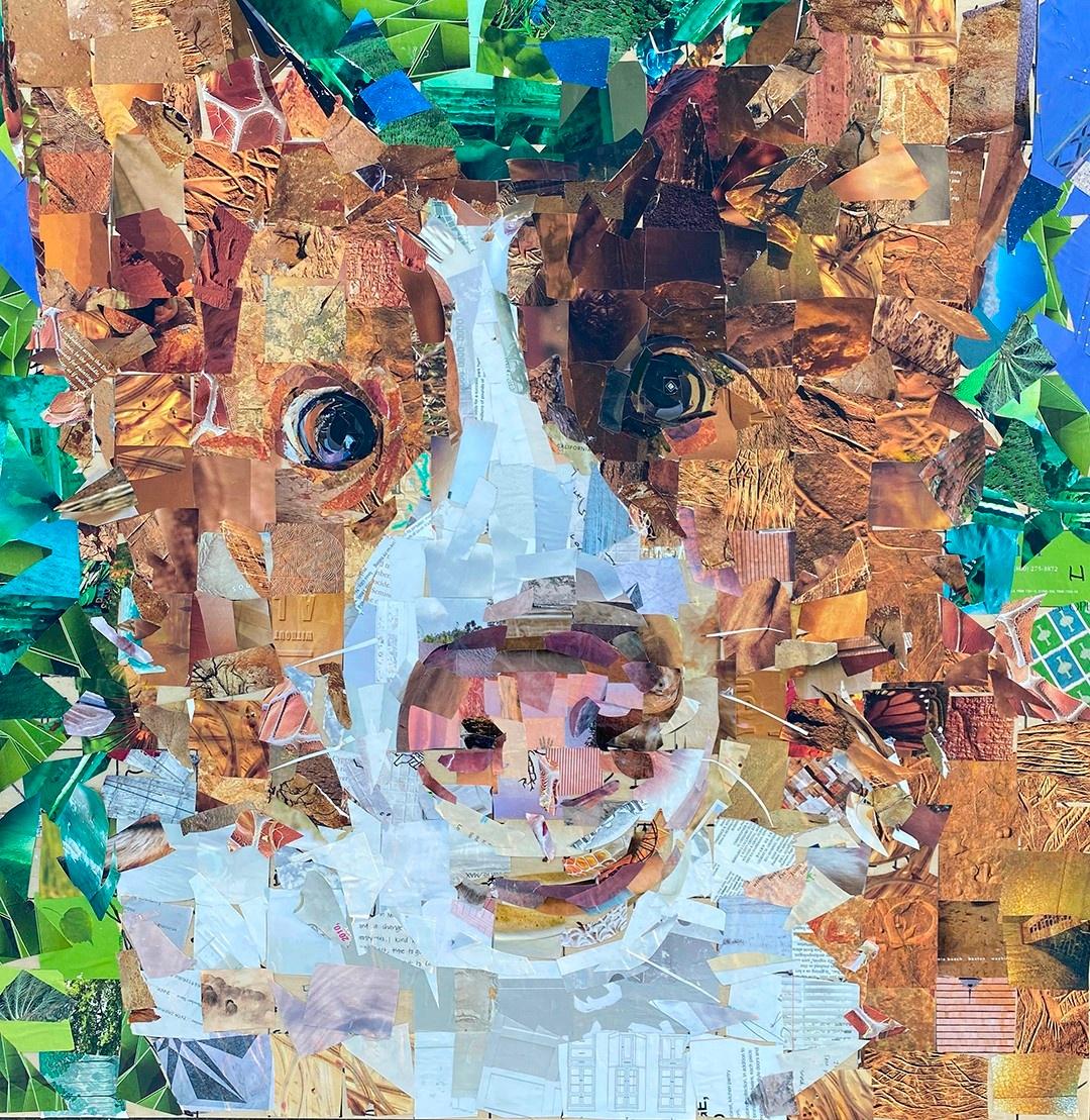 Samuel Price, Dog Collage Art