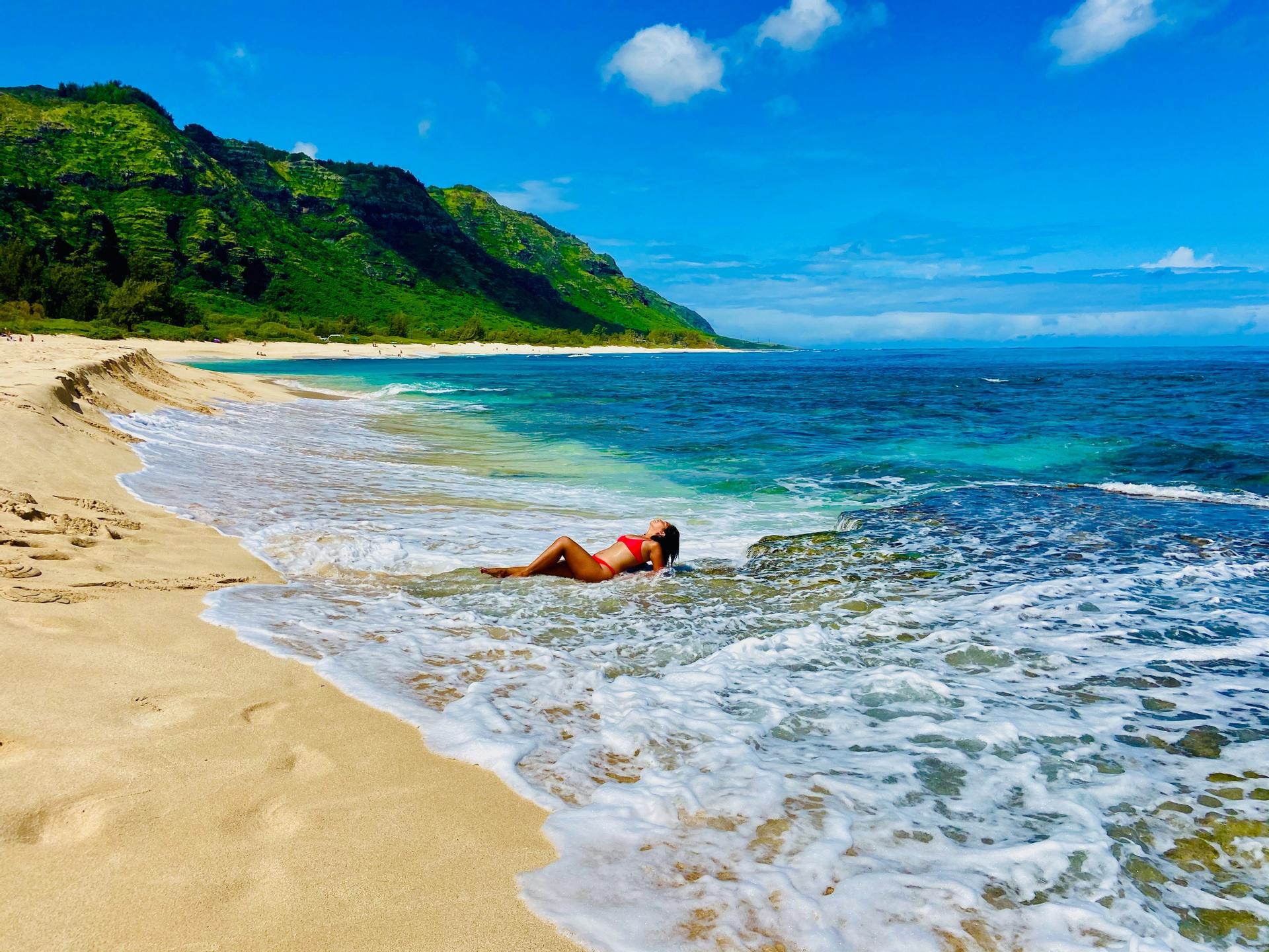 Live In Hawaii Dreams Beach Diana Gremillion
