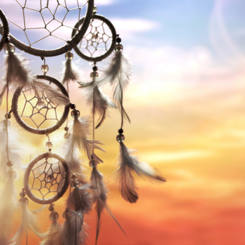 dreamcatcher in sky