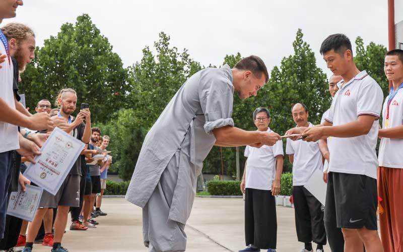 Kung Fu Certification by Wei Shifu